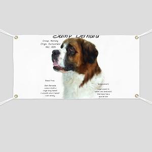 Saint Bernard (Rough) Banner