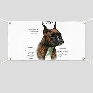 Boxer (brindle) Banner
