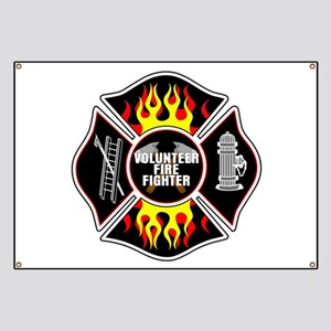 Volunteer Firefighter Banner