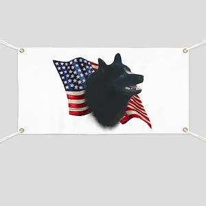 Schipperke Flag Banner