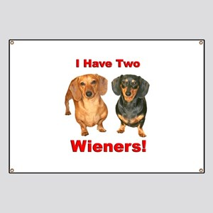 Two Wieners Banner