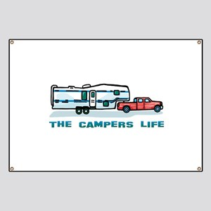 The campers life Banner