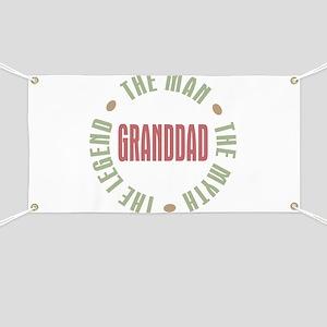 GrandDad Man Myth Legend Banner