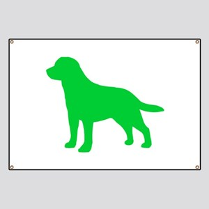 Labrador Retriever St. Patty's Day Banner