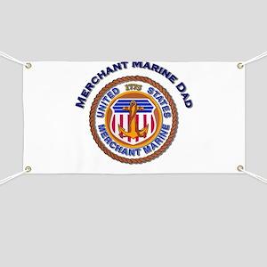 Merchant Marine Dad Banner