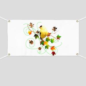 Goldfinch Banner