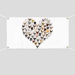 Chicken Heart Banner