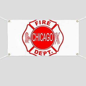 Chicago Firedepartment Banner