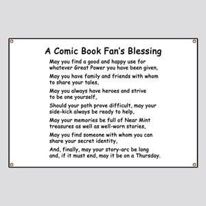 Comic Book Blessing Banner