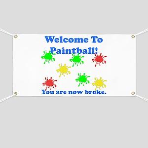 Paintball Broke Banner