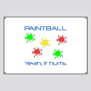 Paintball Hurts Banner