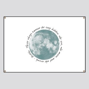 Buddha-Moon Banner