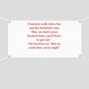 funny science joke Banner