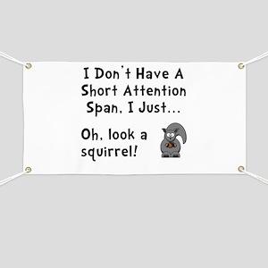 Short Attention Banner
