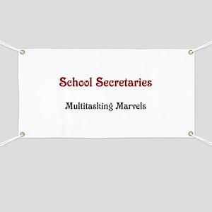 School Sec. Multitasking Marvels Banner