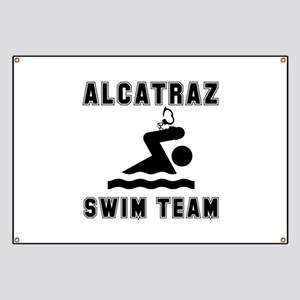 Alcatraz Swim Team Banner