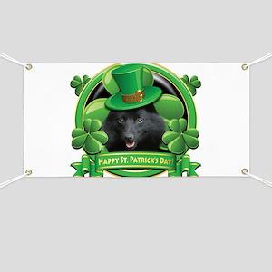 Happy St. Patrick's Day Schip Banner