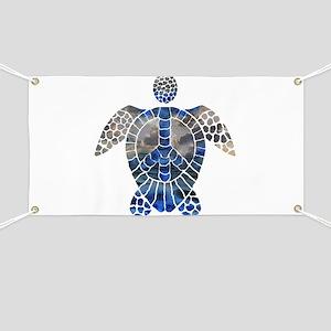 Sea Turtle Peace Banner
