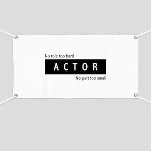 Actor Banner