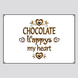Chocolate Happy Banner