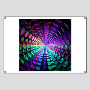 Abstract / Psychedelic Tunnel Banner