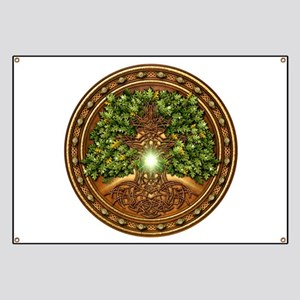 Sacred Celtic Trees - Oak Banner