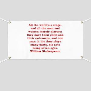 william shakespeare Banner