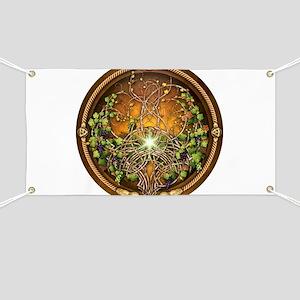 Sacred Celtic Trees - Vine Banner
