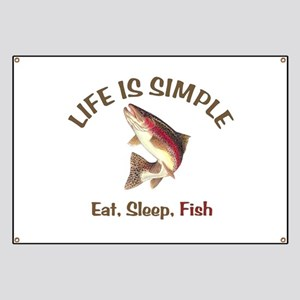 Life is Simple Banner