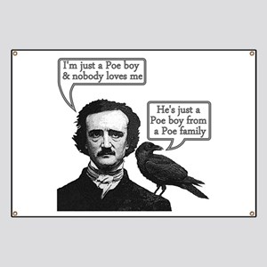 Poe Boy Banner