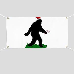 Christmas Squatchin Banner