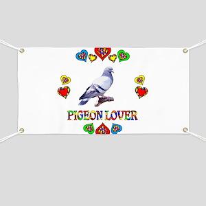 Pigeon Lover Banner