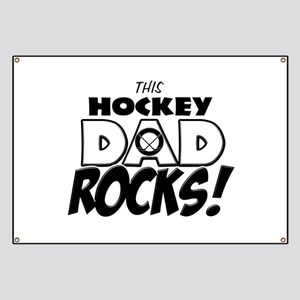 This Hockey Dad Rocks copy Banner