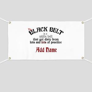 The Black Belt is Banner