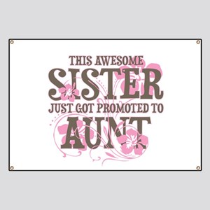 Promoted Aunt Banner