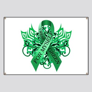 I Wear Green for Myself Banner