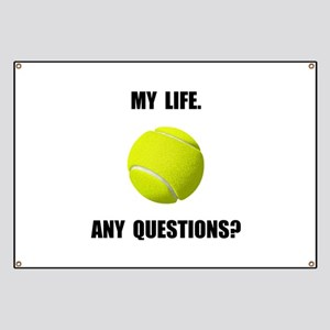 My Life Tennis Banner