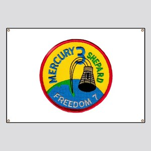 Freedom 7 Alan Shepherd Banner