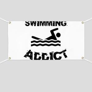 Swimming Addict Banner