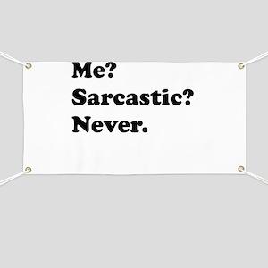 Sarcastic Banner