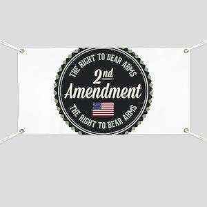 Second Amendment Banner