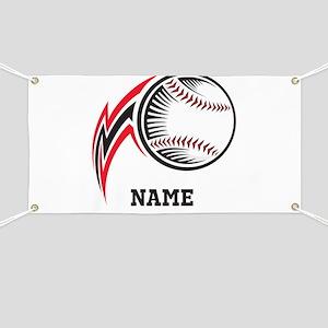 Personalized Baseball Pitch Banner