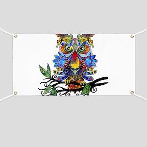wild owl Banner