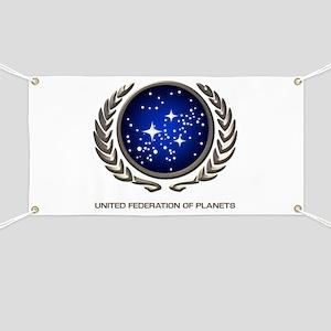 STAR TREK UFP Insignia Banner