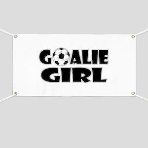 Goalie Girl - Soccer Banner