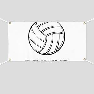 Custom Volleyball Banner