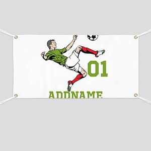 Customizable Soccer Banner