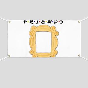 Friends Peephole Frame Banner