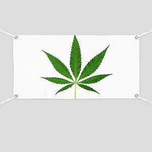 Pot Leaf Banner