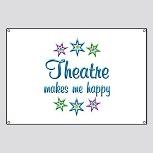 Theatre Happy Banner